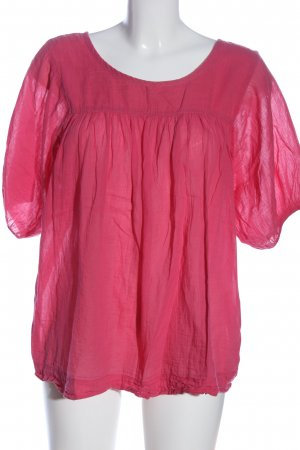 Hüftgold Slip-over Blouse pink casual look