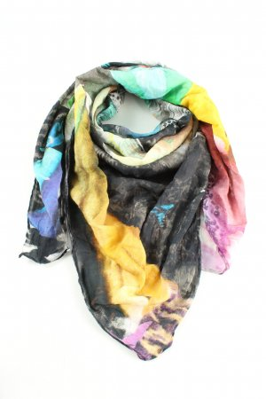 Hüftgold Shoulder Scarf abstract pattern casual look