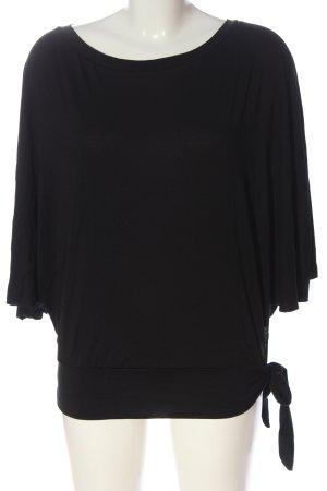 Hüftgold Boatneck Shirt black casual look