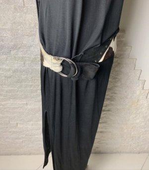 keine Cinturón de cadera blanco puro-marrón oscuro