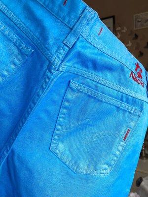 Pantalón de campana azul claro