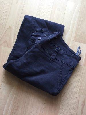 Pantalon taille basse noir-gris anthracite