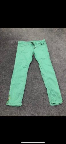 Pimkie Pantalon taille basse vert menthe