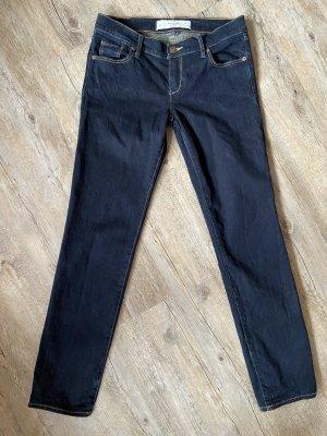 Abercrombie & Fitch Jeans vita bassa blu scuro