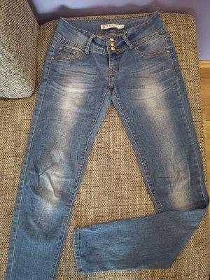 Low Rise Jeans pale blue-blue