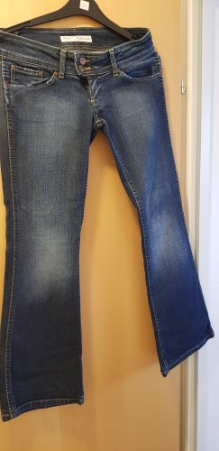 Pepe Jeans London Low Rise Jeans dark blue