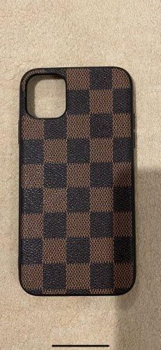 Mobile Phone Case black brown-cognac-coloured