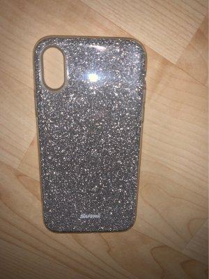 Mobile Phone Case silver-colored