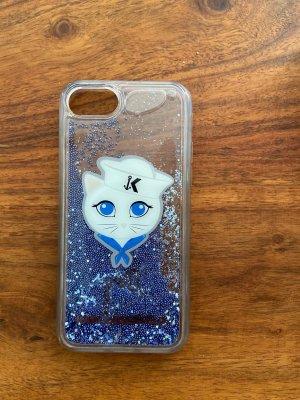 Karl Lagerfeld Hoesje voor mobiele telefoons blauw