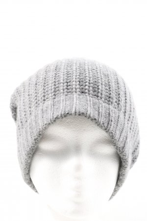 Hugenberg Knitted Hat light grey casual look