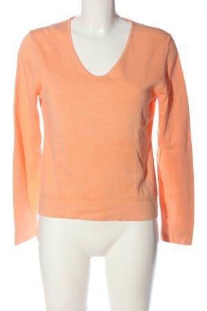 Hugenberg V-Ausschnitt-Pullover nude Casual-Look