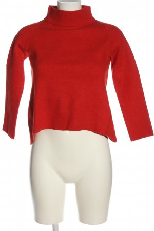 Hugenberg Wollpullover rot Casual-Look