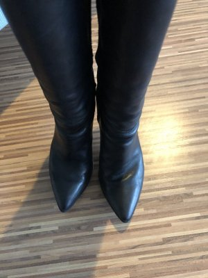 Hugo Boss High Heel Boots black