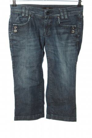 Hugo Boss 3/4 Jeans blau Casual-Look