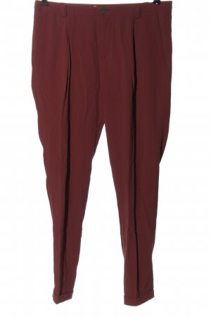 Hugo Boss 7/8 Length Trousers red casual look