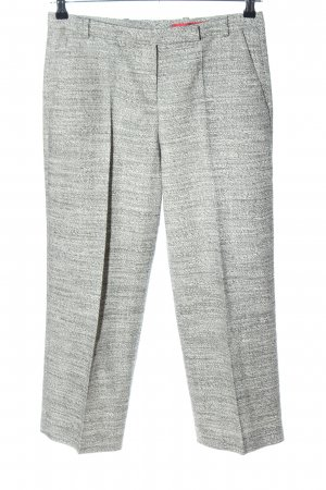 Hugo Boss 7/8-Hose hellgrau meliert Business-Look