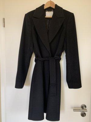 BOSS HUGO BOSS Krótki płaszcz czarny