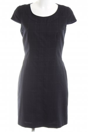 Hugo Boss A-Linien Kleid schwarz Business-Look