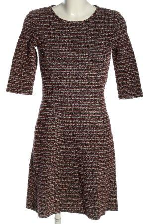 Hugo Boss A-Linien Kleid Streifenmuster Casual-Look