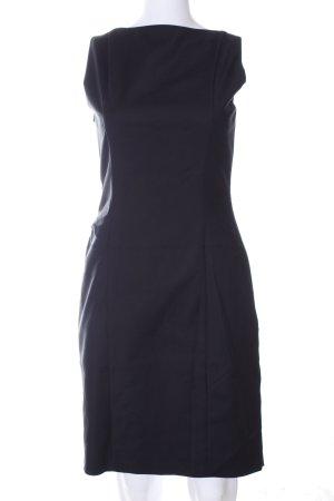 Hugo Boss Abendkleid blau Business-Look