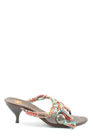 Hugo Boss Sandalo con tacco multicolore stile casual