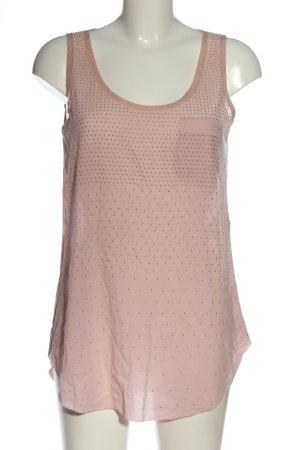 Hugo Boss ärmellose Bluse pink Casual-Look