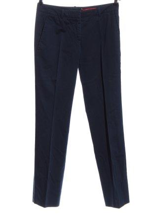 Hugo Boss Anzughose blau Business-Look