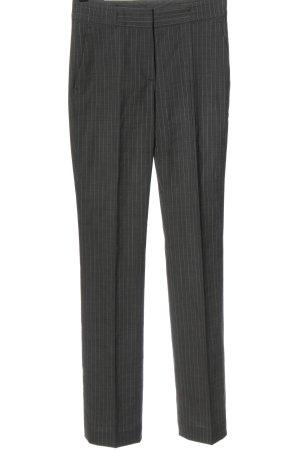 Hugo Boss Spodnie garniturowe jasnoszary-w kolorze białej wełny Wzór w paski