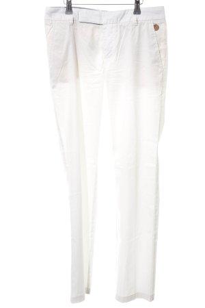 Hugo Boss Pantalon de costume blanc cassé style décontracté