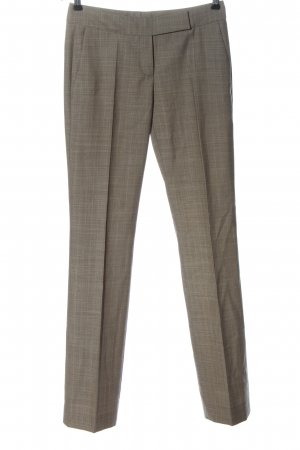 Hugo Boss Pantalon de costume brun motif à carreaux style d'affaires