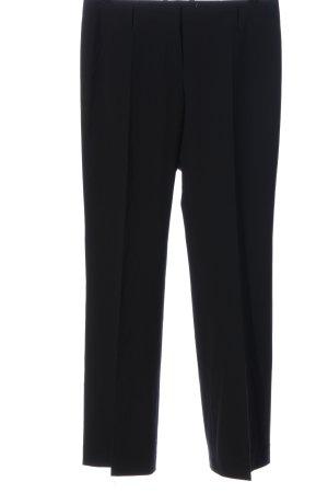 Hugo Boss Spodnie garniturowe czarny W stylu biznesowym