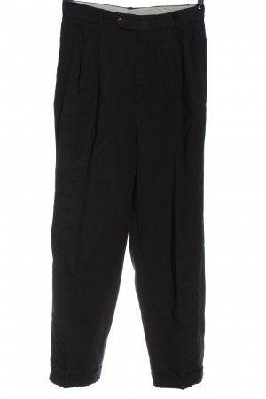 Hugo Boss Pantalon «Baggy» noir élégant
