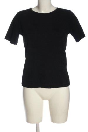 Hugo Boss Basic-Shirt schwarz Casual-Look