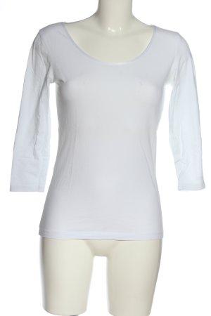 Hugo Boss Basic-Shirt weiß Casual-Look