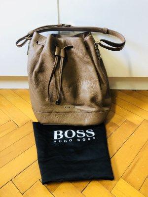 Hugo Boss Bolso tipo marsupio marrón