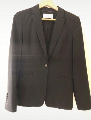 BOSS HUGO BOSS Long Blazer black wool