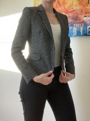 HUGO Hugo Boss Tweed Blazer black-white