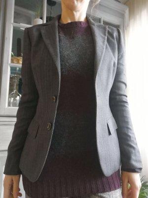 Hugo Boss Blazer en laine gris anthracite