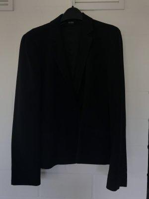 Hugo Boss Blazer / schwarz / leichter Stoff / mit Taschen