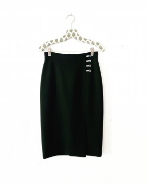 Hugo Boss High Waist Skirt black