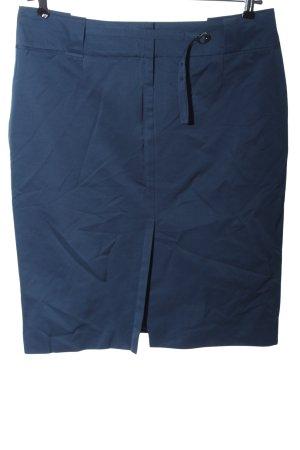 Hugo Boss Bleistiftrock blau Business-Look