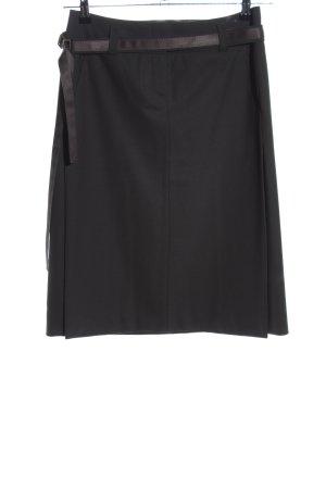 Hugo Boss Falda de tubo negro estilo «business»