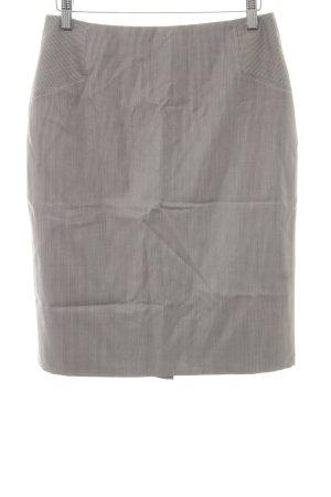 Hugo Boss Bleistiftrock grau Streifenmuster klassischer Stil