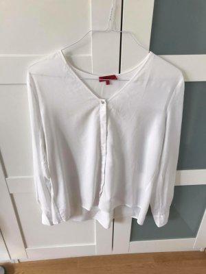 Hugo Boss Blusa de manga larga blanco