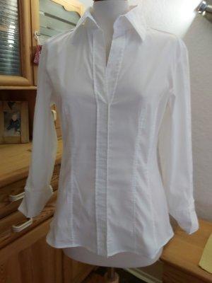 Hugo Boss Kołnierzyk koszulowy biały Bawełna
