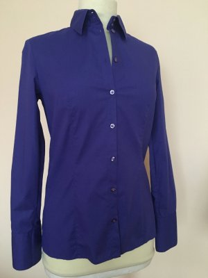 Hugo BOSS Bluse in Royal Blau Gr. 34
