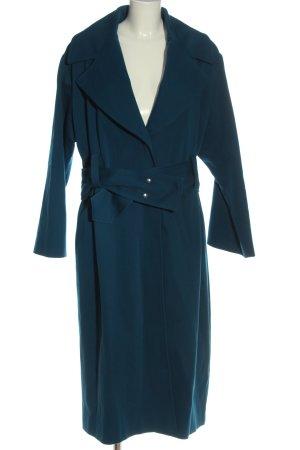 Hugo Boss Manteau long bleu style décontracté