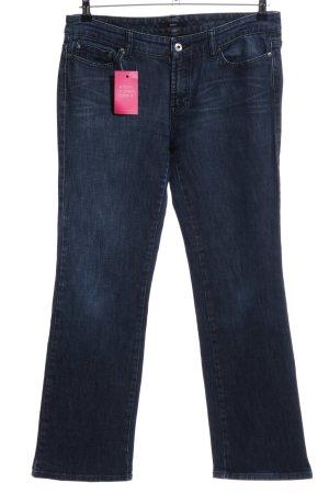 Hugo Boss Vaquero de corte bota azul look casual