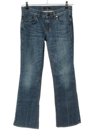 Hugo Boss Boot Cut Jeans blau Casual-Look