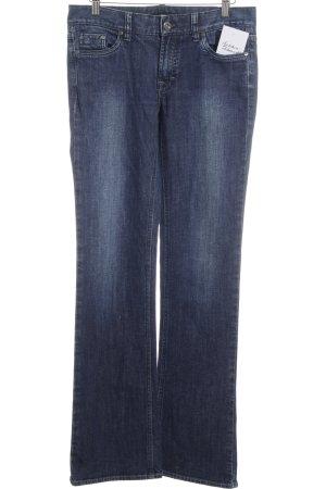Hugo Boss Jeans svasati blu scuro stile casual